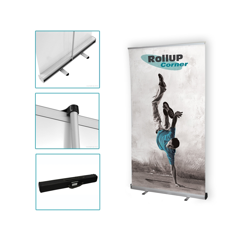 Roll up 100x200 stand roll up 100x200 pas cher plv for Stand kakemono