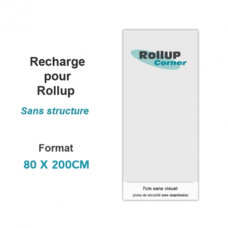 Recharge Rollup 80x200cm