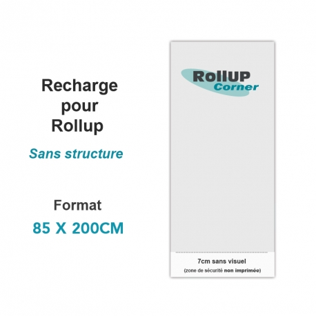 Recharge Rollup 85x200cm